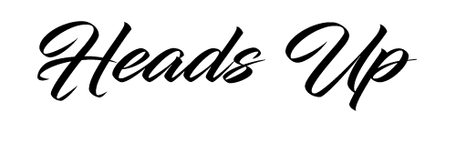 Heads Up Bandanas Logo