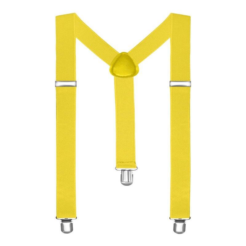 3.5cm Mens fully adjustable Clip on Braces//Suspenders