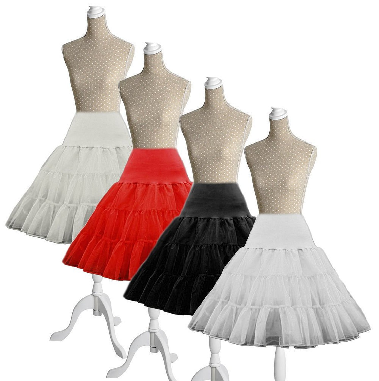 "50s Vintage Rockabilly Net Petticoat Skirt 26"" DARK PINK"